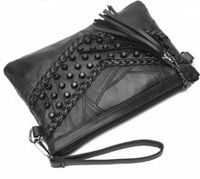 Black Tassel Side Bag