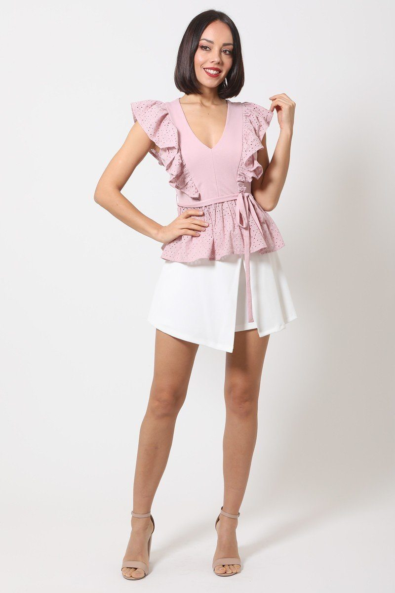 Lovely Peplum Top