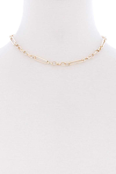 Single Chain Short Necklace