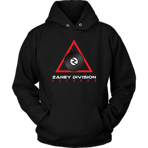 Zaney Division Hoodie (Official Red Logo)