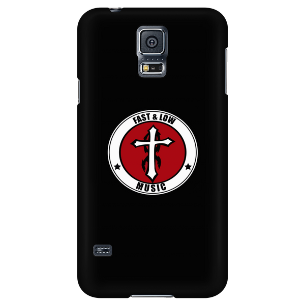 Fast & Low Music iPhone/Galaxy Case (Black)