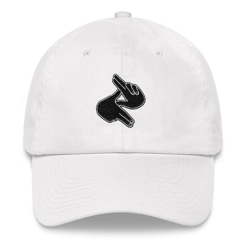 Z's Up! Dad Hat (White)