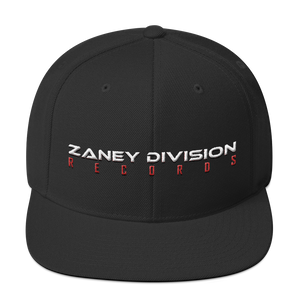 Zaney Division Official Snapback (Logo Text)