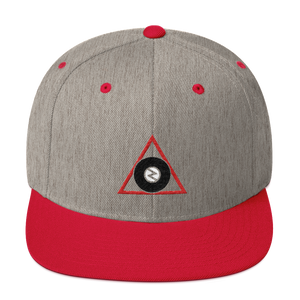 Zaney Division Official Snapback (Red/Tan)