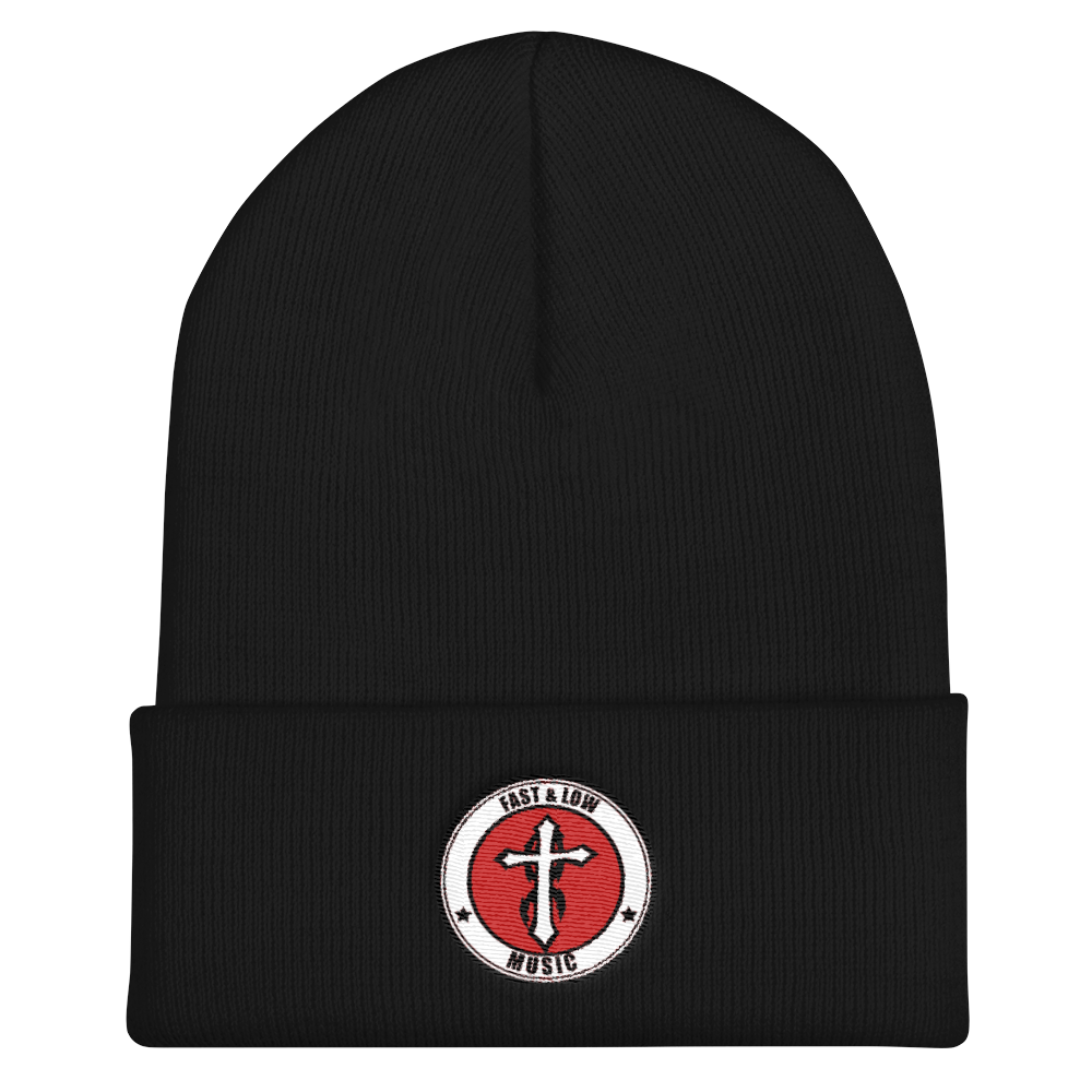 Fast & Low Music Beanie (Black)