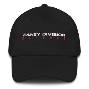Zaney Division Offical Dad Hat (Words)