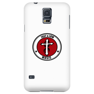 Fast & Low Music iPhone/Galaxy Case (White)