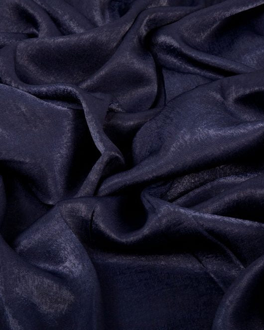 Midnight Blue Sateen Hijab