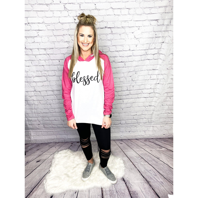 Blessed Raglan Hoodie-[option4]-Trendy-Womens-Clothing-Store-Shop-The Beauty Alley Boutique Inc