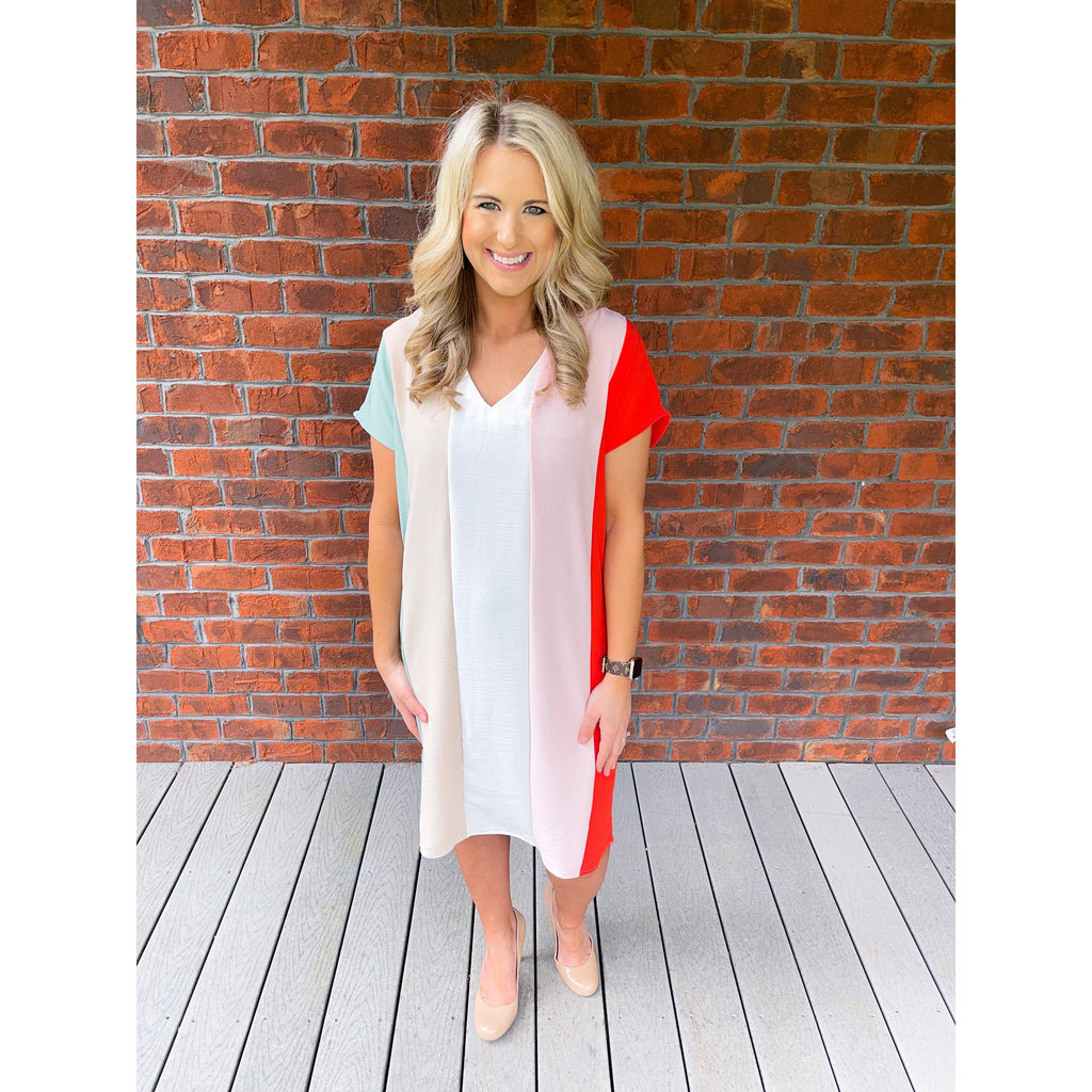 Legacy Of Love Striped Dress-[option4]-Trendy-Womens-Clothing-Store-Shop-The Beauty Alley Boutique Inc