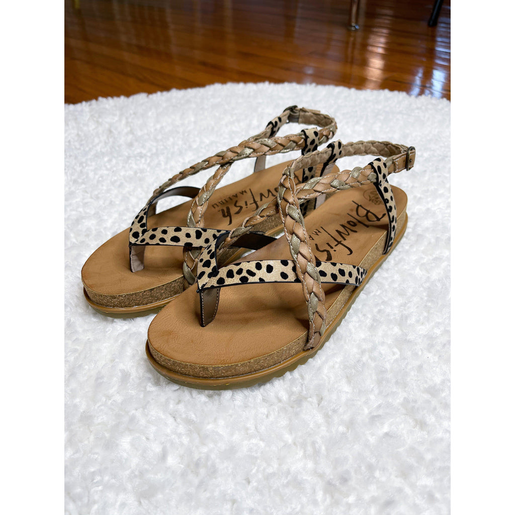 Blowfish Foxtail Sandal (Leopard)-[option4]-Trendy-Womens-Clothing-Store-Shop-The Beauty Alley Boutique Inc