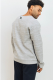 Pullover With Zippered Front Pocket- Grey - Axcess Athletics