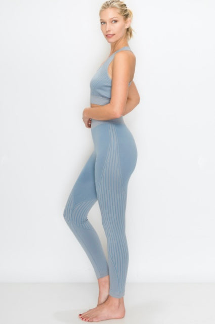 Seamless PANT - Baby Blue