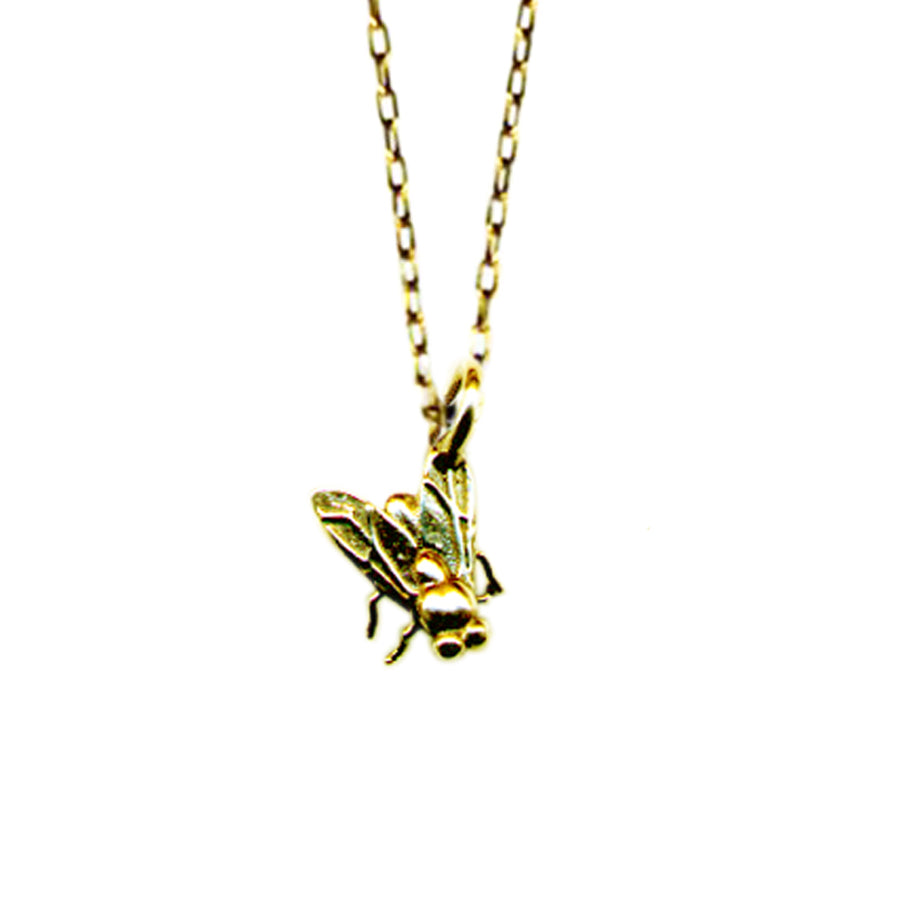 Tiny Fly Necklace