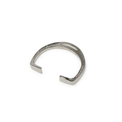 Polished Silver Stirrup Cuff