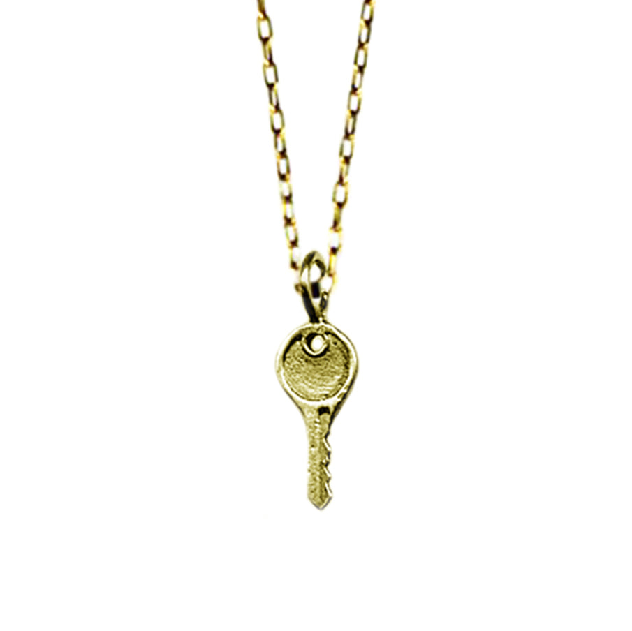 Tiny Key Necklace