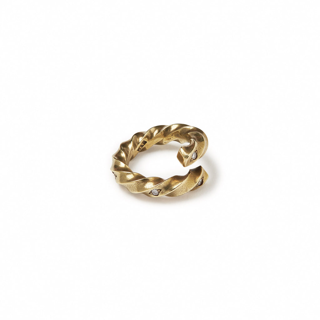 GILES & BROTHER HIGH<br><b>TWISTED TWIST RING</b>