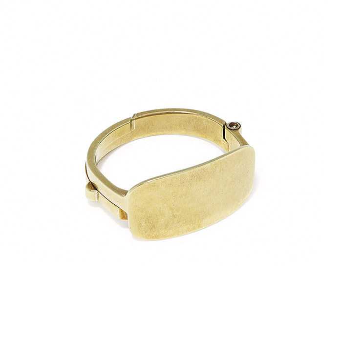 Latch Cuff ID Top Brass
