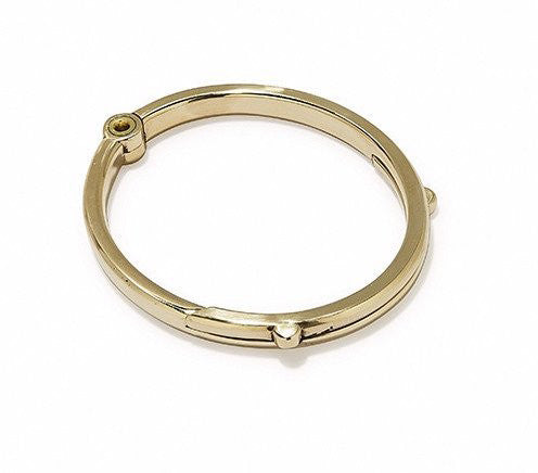 Latch Cuff Gold Polished Brass