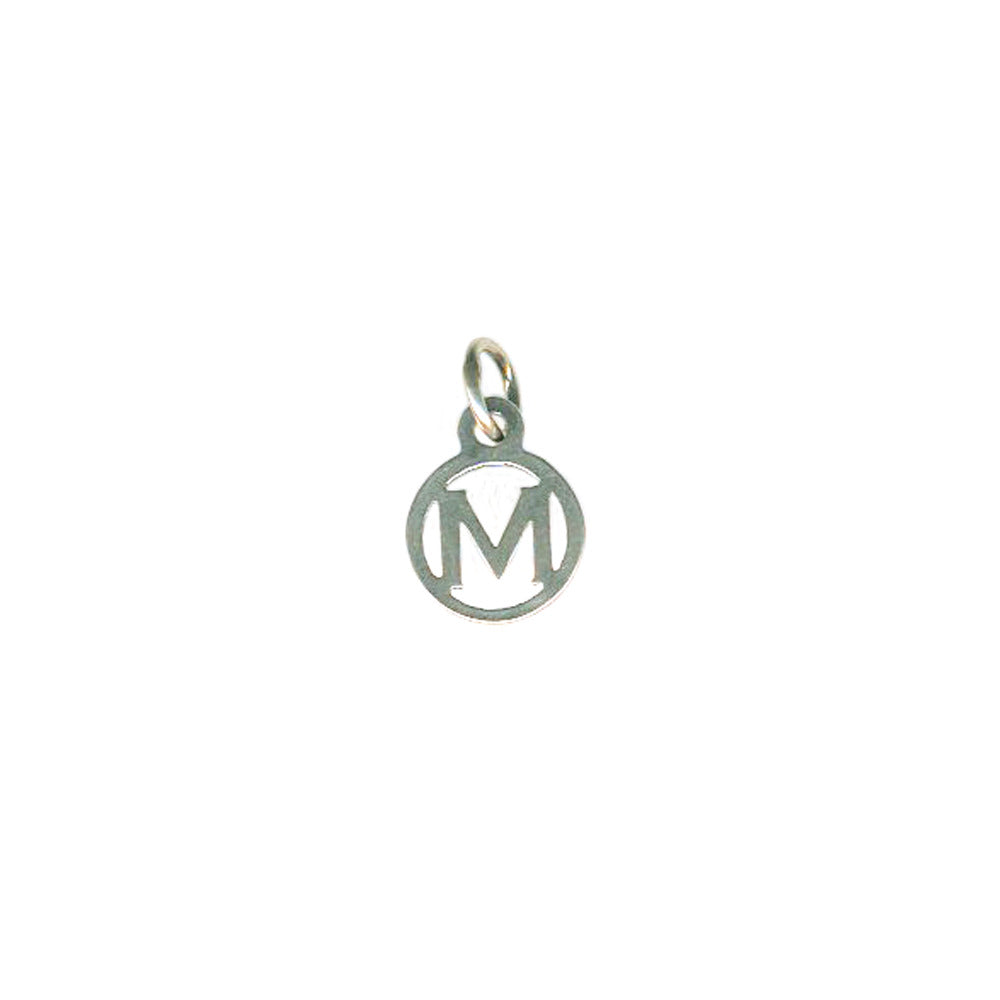 M Tiny Initial Charm