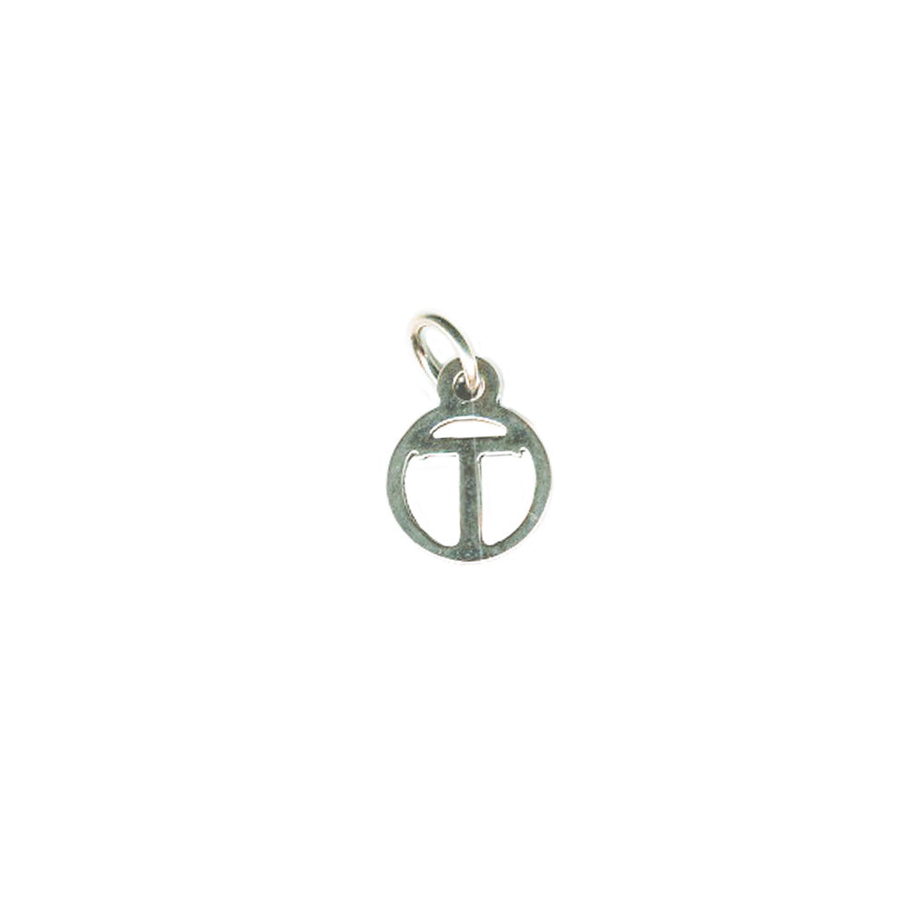 T Tiny Initial Charm