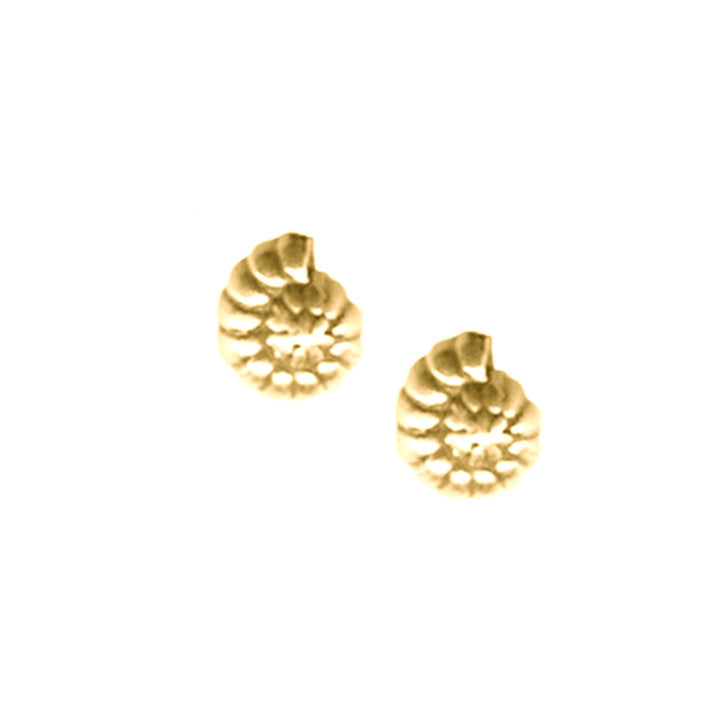 Tiny Nautilis Earrings