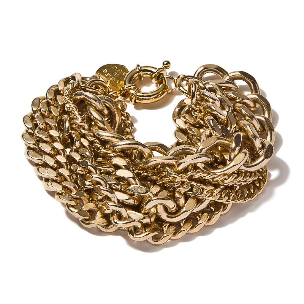 Large Multi-Chain Bracelet
