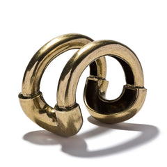 Oversized Cortina Cuff Brass