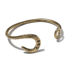Hook Cuff Antique Brass Finish