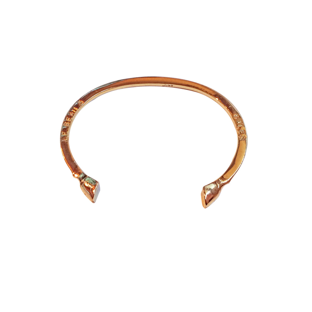 Mini Pied-de-Biche Cuff Rose Gold