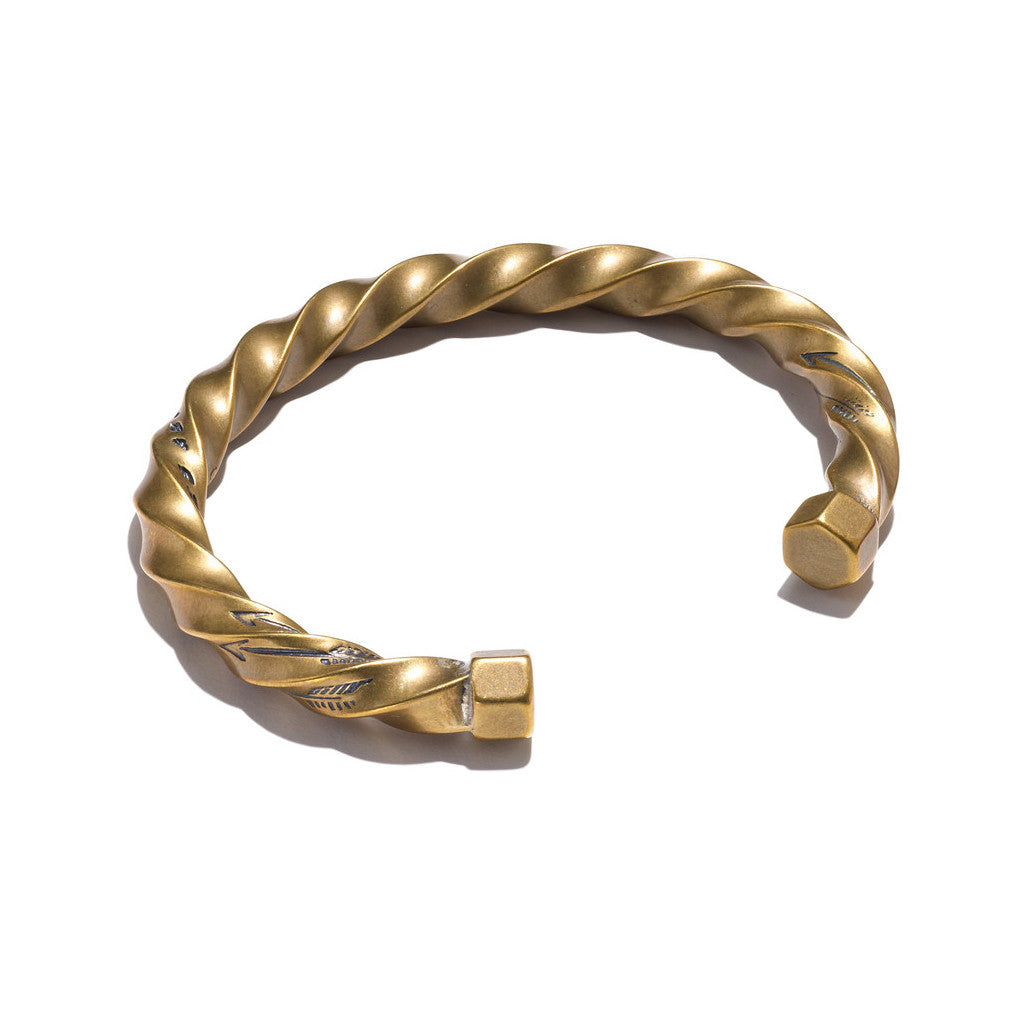 Twisted Cuff Brass