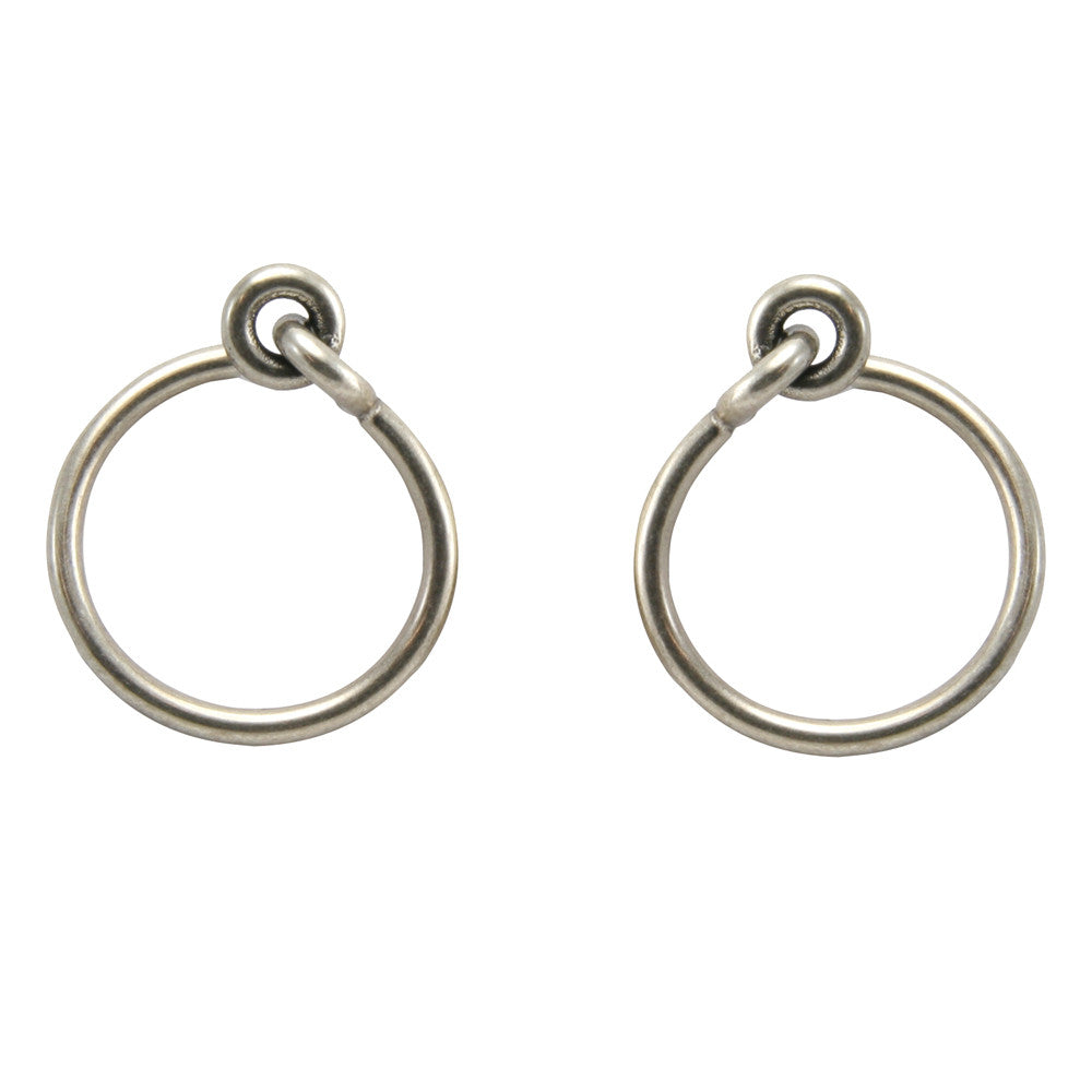 Silver Archer Front Hoops