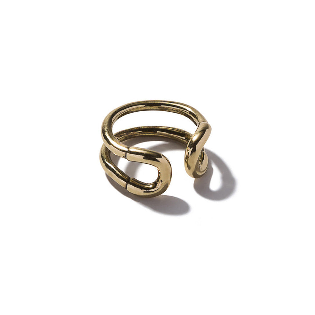 Mini Cortina Ring Brass