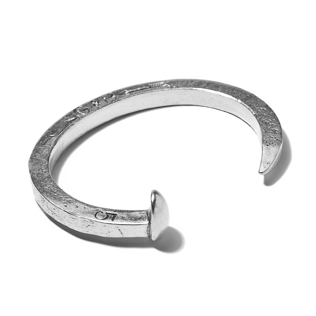 The Original Railroad Spike Cuff Sterling Silver