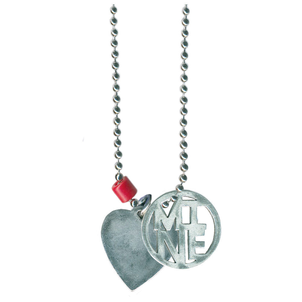 Heart and Mine Necklace