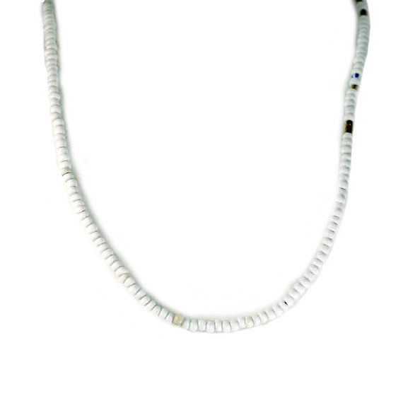 White African Bead Necklace