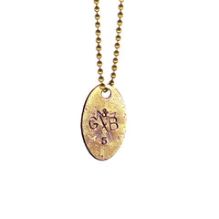G&B Dog Tag Necklace