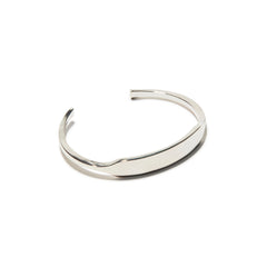 Silver Polished ID Cuff