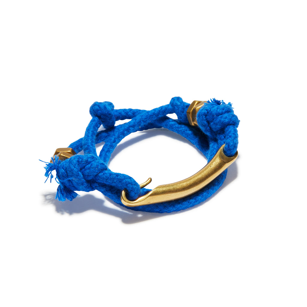 ID Bar Solid Blue Rope Wrap