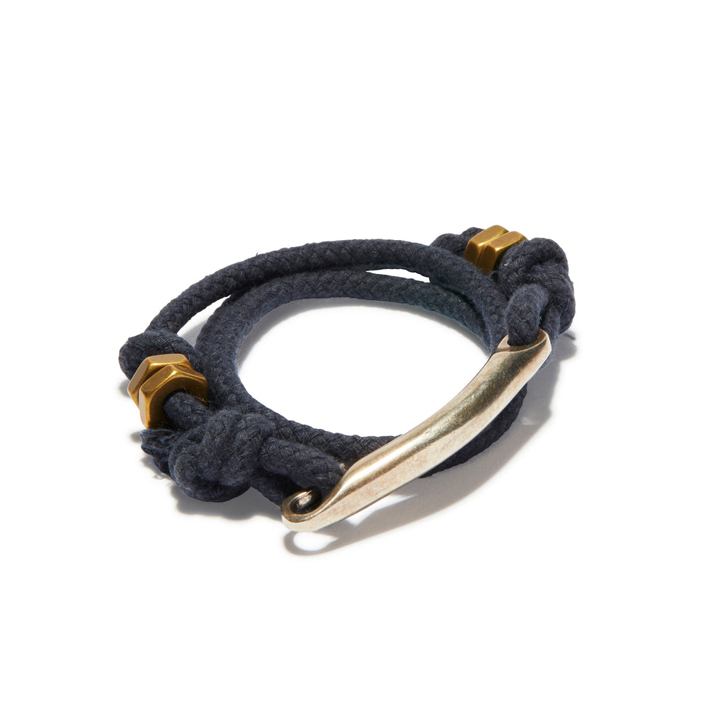 ID Bar Solid Navy Rope Wrap