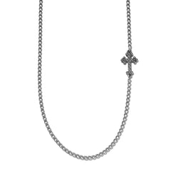 Embedded Cross Necklace