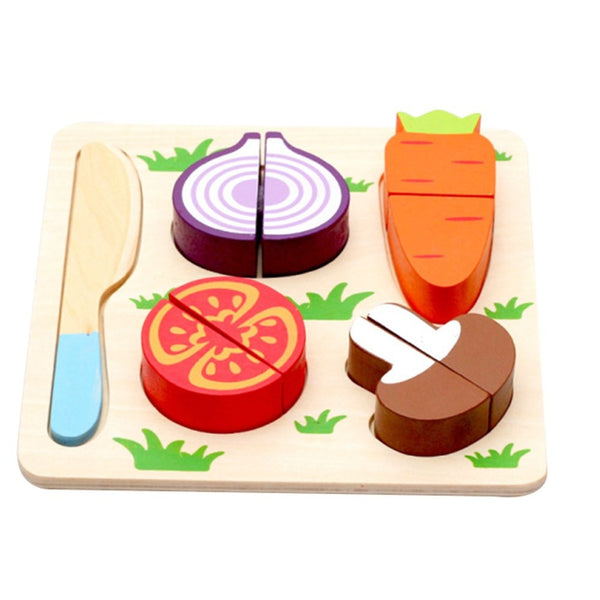 Strange Kitchen Finmind Kitchen Toys Wooden Play Food Set For Kids Pretend Play Cutting Fruits And Vegetables Educational Toys 17 8 17 8 3 5Cm 5 Home Interior And Landscaping Ymoonbapapsignezvosmurscom