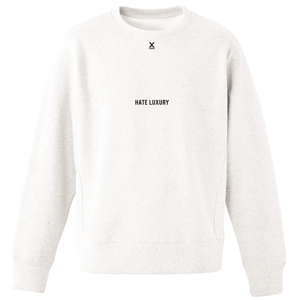 Hate Luxury Crewneck Sweatshirt