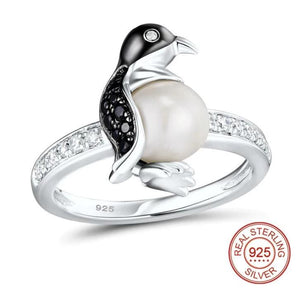 Pregnant Penguin Ring
