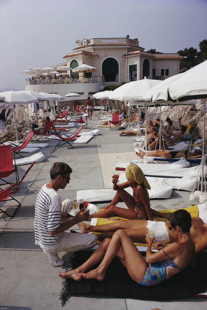 Slim Aarons Hotel Du Cap - The Hackney Emporium