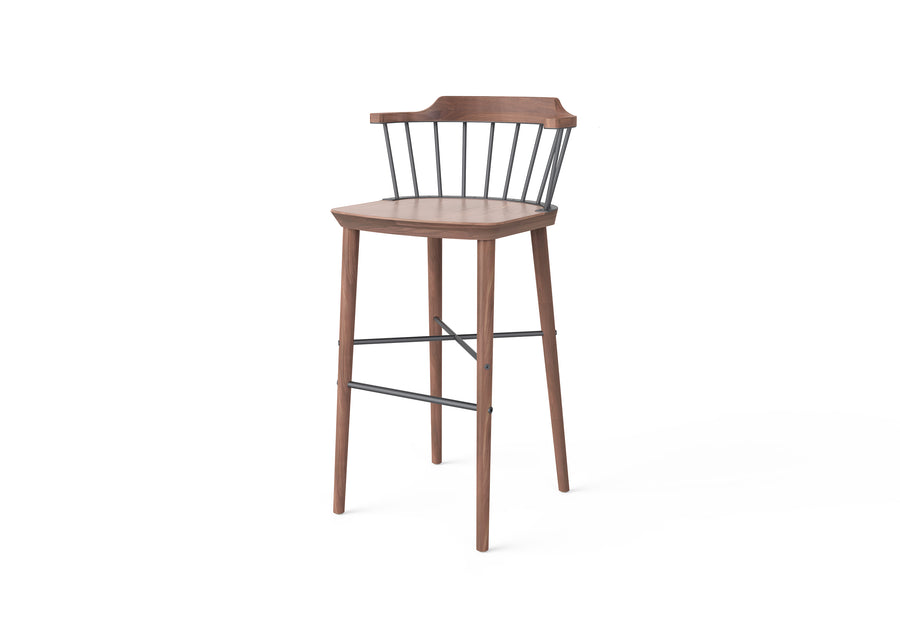 Stellar Works Exchange Bar Chair SH750 - The Hackney Emporium
