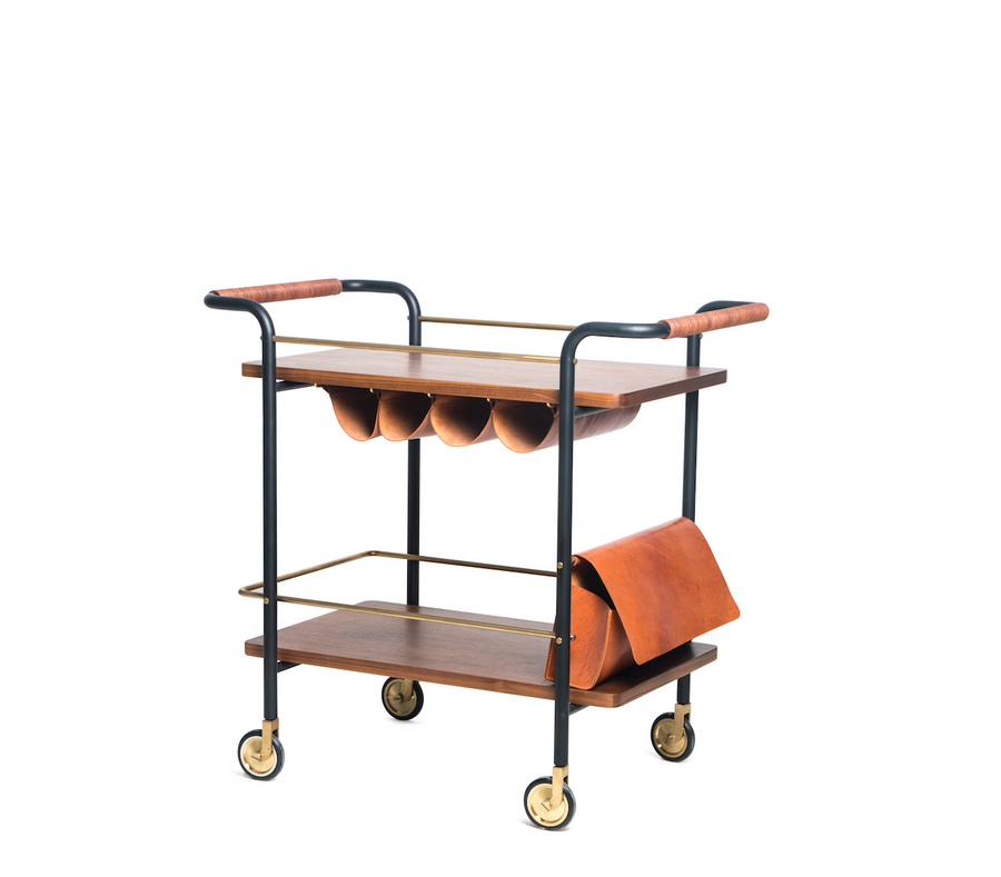 Stellar Works Valet Bar Cart - The Hackney Emporium