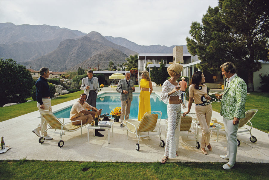 Slim Aarons Desert House Party (Version 2) - The Hackney Emporium