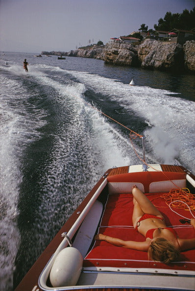 Slim Aarons Leisure in Antibes - The Hackney Emporium