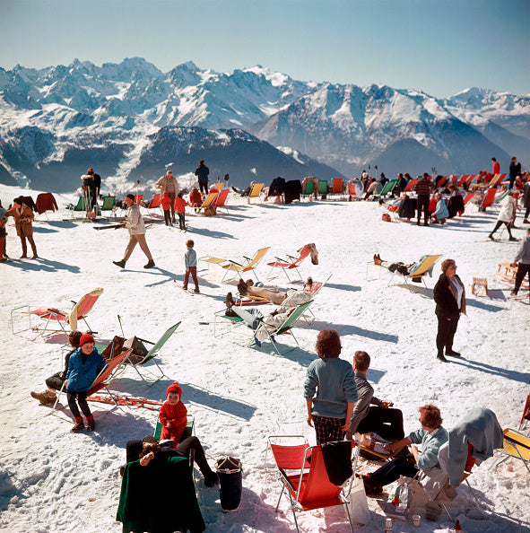 Slim Aarons Verbier Vacation - The Hackney Emporium